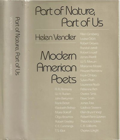 9780674654754: Part of Nature, Part of Us: Modern American Poets