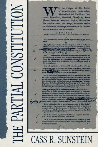 The Partial Constitution: Sunstein, Cass R.