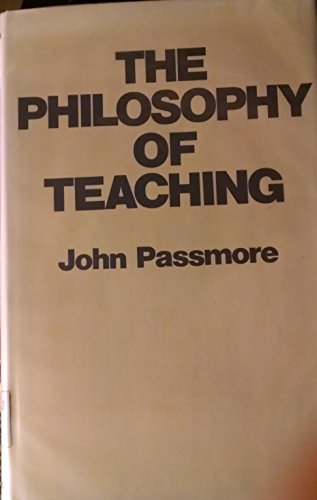 9780674665651: The Philosophy of Teaching