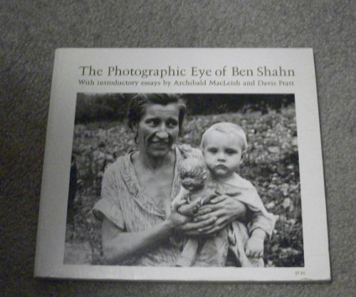 9780674666153: The Photographic Eye of Ben Shahn