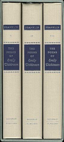 9780674676220: The Poems of Emily Dickinson (Variorum Edition)