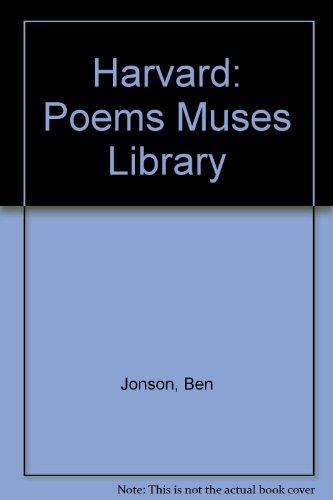 9780674677012: Poems