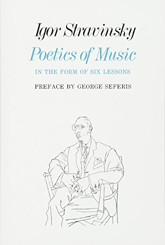 9780674678569: Poetics of Music in the Form of Six Lessons (The Charles Eliot Norton Lectures)