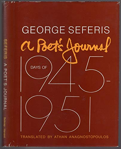 A Poet's Journal: Days of 1945-51: George A. Seferis
