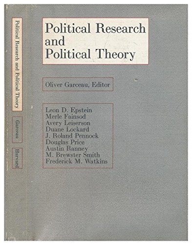 Political Research and Political Theory: Leon D. Epstein,