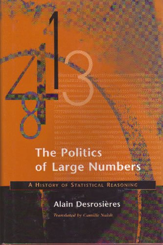 9780674689329: The Politics of Large Numbers: A History of Statistical Reasoning