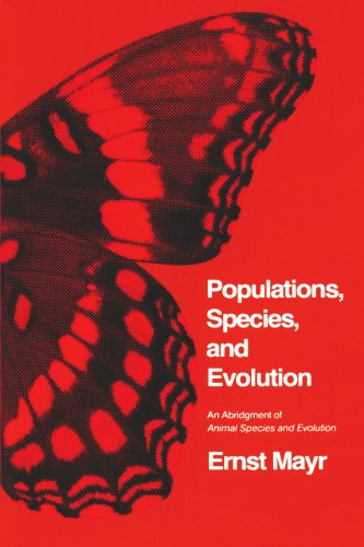 Populations, Species, and Evolution: An Abridgment of Animal Species and Evolution