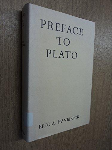 9780674699007: Preface to Plato