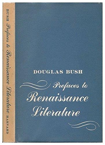 9780674700000: Prefaces to Renaissance Literature