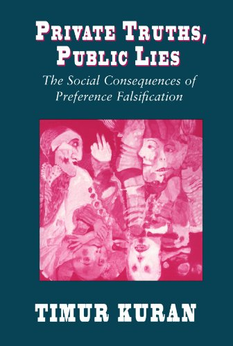 9780674707580: Private Truths, Public Lies: The Social Consequences of Preference Falsification