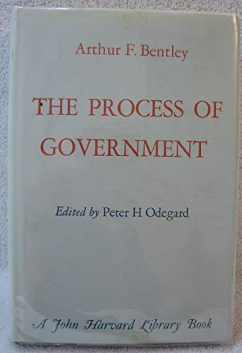 9780674710504: The Process of Government (The John Harvard Library)