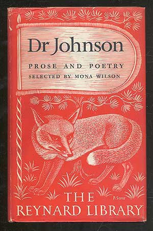 9780674716209: Johnson: Prose and Poetry (The Reynard Library)