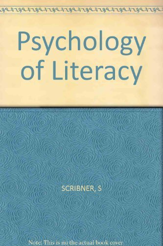 9780674721142: Psychology of Literacy