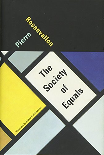 9780674724594: The Society of Equals