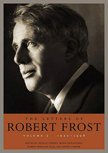 9780674726642: 2: The Letters of Robert Frost, Volume Two