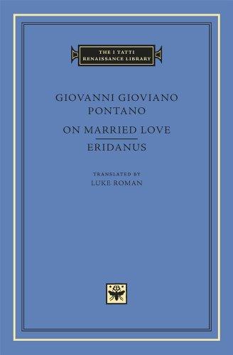 9780674728660: On Married Love. Eridanus (The I Tatti Renaissance Library)