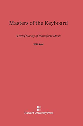 9780674729384: Masters of the Keyboard