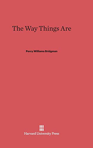 9780674731387: The Way Things Are