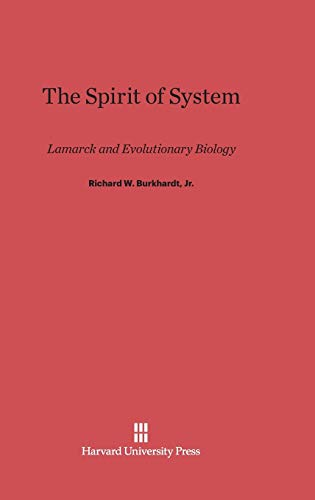 9780674731455: The Spirit of System