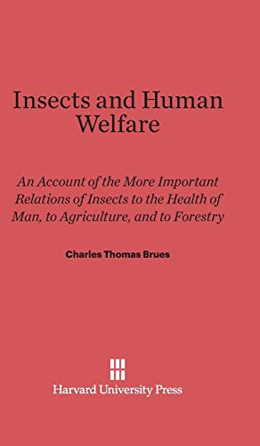 9780674732629: Insects and Human Welfare