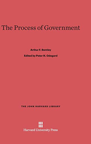 9780674733640: The Process of Government (John Harvard Library (Hardcover))