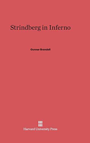 9780674733978: Strindberg in Inferno