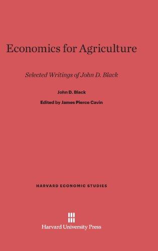 9780674734623: Economics for Agriculture (Harvard Economic Studies)
