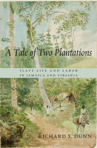 9780674735361: A Tale of Two Plantations: Slave Life and Labor in Jamaica and Virginia