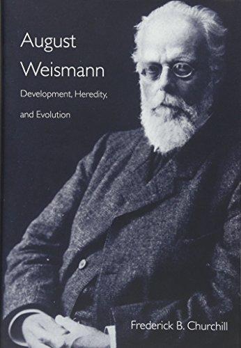 9780674736894: August Weismann: Development, Heredity, and Evolution