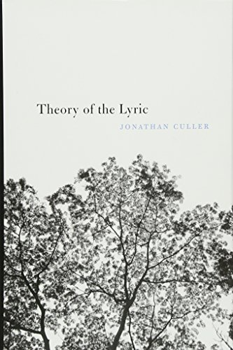 9780674744264: Theory of the Lyric