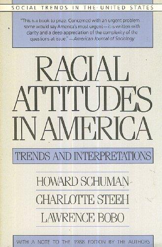 9780674745735: Racial Attitudes in America: Trends and Interpretations