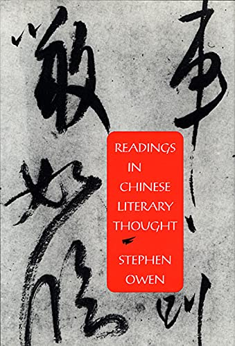 9780674749214: Readings in Chinese Literary Thought (Harvard-Yenching Institute Monograph Series , No 30)