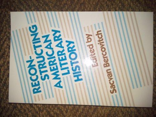 9780674750869: Reconstructing American Literary History (Harvard English Studies)