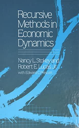 Recursive Methods in Economic Dynamics: Nancy L. Stokey