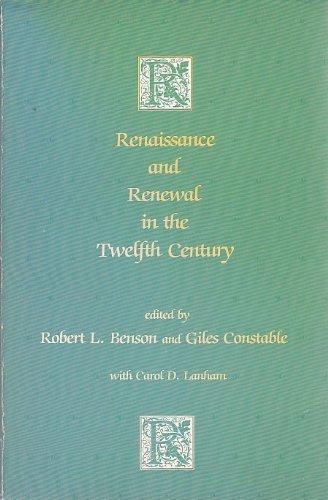 9780674760868: Benson: Renaissance Renewal 12th Cent