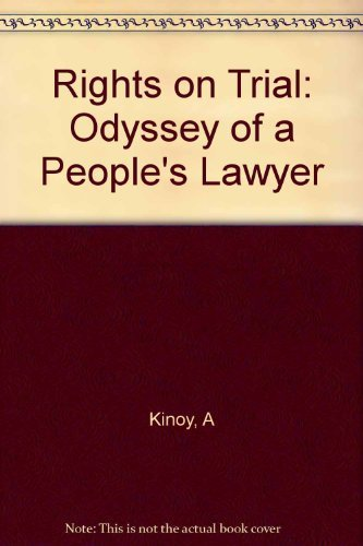 9780674770133: Rights on Trial: The Odyssey of a People's Lawyer