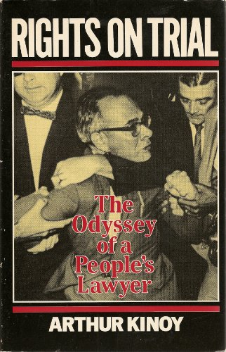 9780674770140: Rights on Trial: The Odyssey of a People's Lawyer