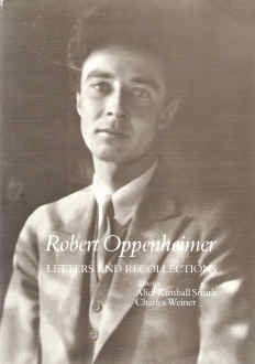 9780674776050: Robert Oppenheimer: Letters and Recollections (Harvard Paperbacks)