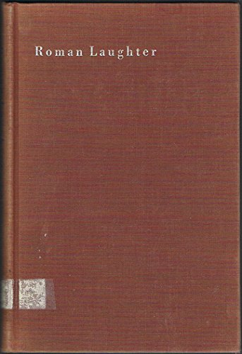 9780674778207: Roman Laughter: The Comedy of Plautus (Study in Comparative Literature)