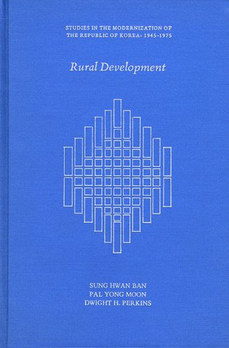 Rural Development (Studies in the Modernization of: Sung Hwan Ban;