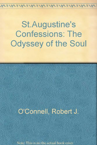 9780674785151: St. Augustine's Confessions: The Odyssey of a Soul