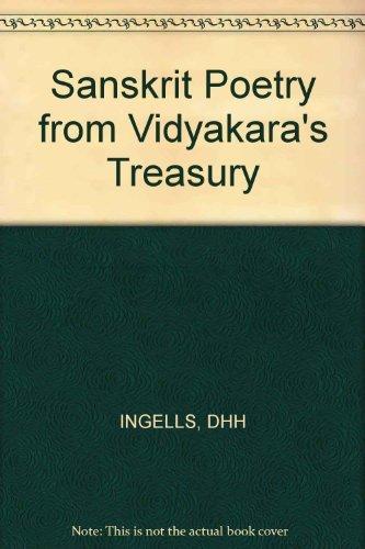 9780674788558: Sanskrit Poetry from Vidyakara's Treasury