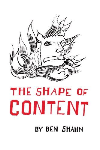 9780674805705: The Shape of Content