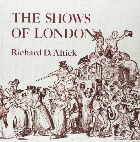 9780674807310: The Shows of London (Belknap Press)
