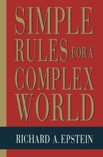 9780674808218: Simple Rules for a Complex World