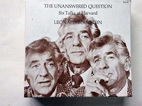 9780674810655: The Unanswered Question: Six Talks at Harvard