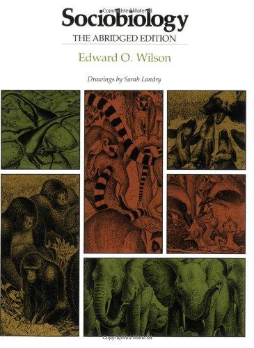 9780674816244: Sociobiology: The Abridged Edition