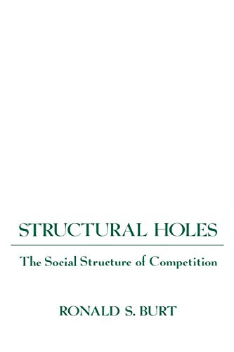 9780674843714: Structural Holes: The Social Structure of Competition