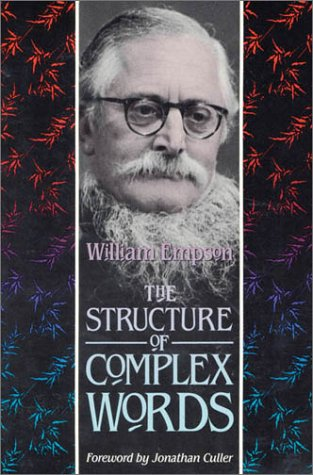 9780674843752: The Structure of Complex Words