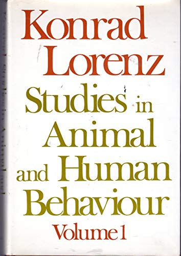 Studies in Animal and Human Behaviour